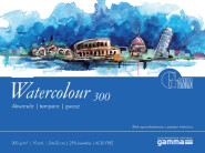 Blok Gamma Fabriano Watercolour 10ark. 300g 24x32