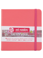 Sketch Book Coral Red 140G 12x12 80kartek ArtCreation Talens