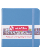 Sketch Book Lake Blue 140G 12x12 80kartek ArtCreation Talens