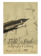 Blok Calligraphy & Lettering Dotted SMLT Start Pad A5 30 arkuszy 90g
