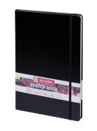 Sketch Book Black 140G A4 21x29,7 ArtCreation Talens