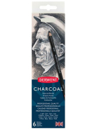 Zestaw Charcoal 6 pencils Derwent