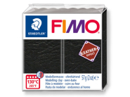 FIMO Leather Effect 57g - 909 Black