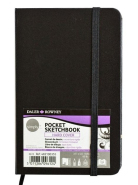 Sketchbook Pocket Simply hard cover 8,9x14cm Rowney