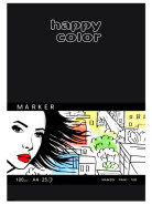 Happy Color Marker 100g, 25 ark. A4