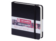 Sketch Book Black 140G 12x12 ArtCreation Talens