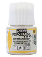 Farba do Porcelany Porcelain 150°C Perłowa 45 ml - 56 White Pearl