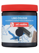 Farba Lino Colour ArtCreation 250 ml Black 7000 Talens