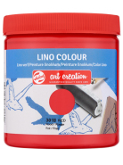 Farba Lino Colour ArtCreation 250 ml Red 3018 Talens