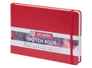 Sketch Book Red 140G  14,8x21 ArtCreation Talens
