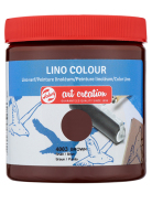 Farba Lino Colour ArtCreation 250 ml Brown 4003 Talens