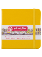 Sketch Book Yellow 140G 12x12 80kartek ArtCreation Talens