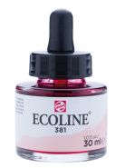 Ecoline 30 ml 381 Pastel red